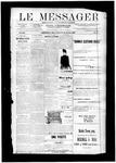 Le Messager, V12 N43, (10/30/1891)