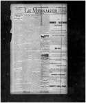 Le Messager, 14e N37, (08/04/1893) by Le Messager