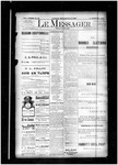 Le Messager, 14e N40, (08/16/1893) by Le Messager
