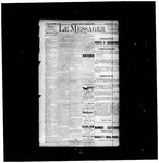 Le Messager, 14e N82, (01/16/1894) by Le Messager