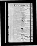 Le Messager, 14e N87, (02/02/1894) by Le Messager