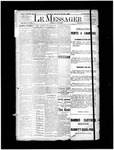 Le Messager, 14e N92, (02/20/1894) by Le Messager