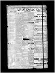 Le Messager, 14e N93, (02/23/1894) by Le Messager