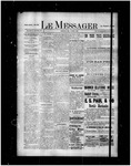Le Messager, 16e N100, (03/13/1896) by Le Messager