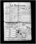 Le Messager, 17e N10, (05/01/1896) by Le Messager