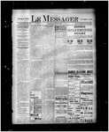Le Messager, 17e N30, (06/25/1896) by Le Messager
