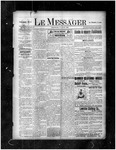 Le Messager, 17e N34, (07/10/1896) by Le Messager