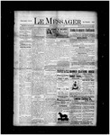 Le Messager, 17e N39, (07/28/1896) by Le Messager