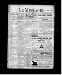 Le Messager, 17e N40, (07/31/1896) by Le Messager
