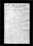 Le Messager, V8 N19, (08/04/1887)