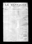 Le Messager, V8 N22, (08/25/1887)