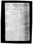 Le Messager, V8 N23, (09/01/1887)