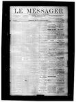 Le Messager, V8 N24, (09/08/1887)