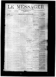 Le Messager, V8 N25, (09/15/1887) by Le Messager