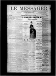 Le Messager, V8 N27, (09/29/1887) by Le Messager