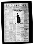 Le Messager, V8 N28, (10/08/1887) by Le Messager