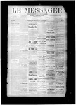Le Messager, V8 N29, (10/13/1887) by Le Messager
