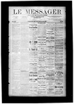 Le Messager, V8 N32, (11/03/1887) by Le Messager