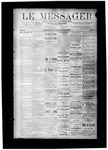 Le Messager, V8 N34, (11/17/1887) by Le Messager