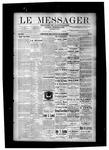 Le Messager, V8 N36, (12/01/1887) by Le Messager