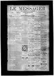 Le Messager, V8 N37, (12/08/1887) by Le Messager
