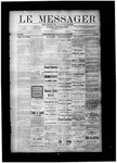 Le Messager, V8 N38, (12/15/1887) by Le Messager