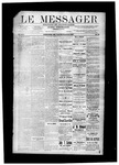 Le Messager, V8 N39, (12/22/1887) by Le Messager