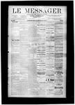 Le Messager, V8 N40, (12/29/1887) by Le Messager