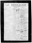Le Messager, V8 N41, (01/05/1888)