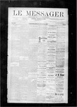Le Messager, V8 N42, (01/12/1888) by Le Messager