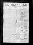 Le Messager, V8 N43, (01/19/1888)