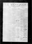 Le Messager, V8 N44, (01/26/1888) by Le Messager