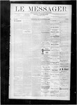 Le Messager, V8 N46, (02/09/1888) by Le Messager