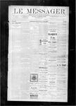 Le Messager, V8 N49, (03/01/1888)