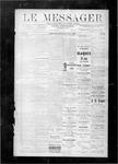 Le Messager, V8 N50, (03/08/1888)