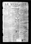 Le Messager, V9 N01, (03/29/1888)