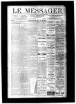 Le Messager, V9 N07, (05/10/1888)