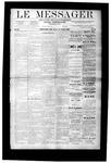 Le Messager, V9 N16, (07/12/1888)
