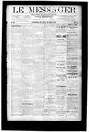 Le Messager, V9 N18, (07/26/1888)
