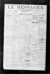 Le Messager, V9 N20, (08/09/1888)
