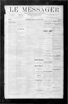 Le Messager, V9 N21, (08/16/1888)