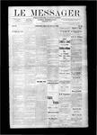 Le Messager, V9 N23, (08/30/1888)