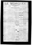 Le Messager, V9 N24, (09/06/1888)