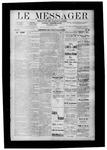 Le Messager, V9 N29, (10/11/1888)