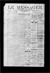 Le Messager, V9 N31, (10/25/1888)