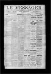 Le Messager, V9 N33, (11/08/1888)