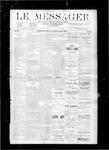 Le Messager, V9 N35, (11/22/1888)