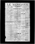 Le Messager, V9 N38, (12/13/1888)