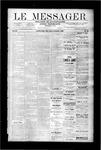 Le Messager, V9 N41, (01/03/1889)