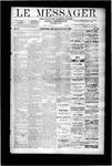 Le Messager, V9 N42, (01/10/1889)